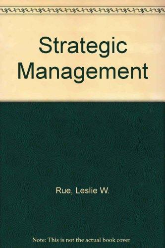 9780071002905: Strategic Management