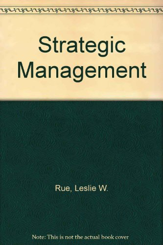 9780071002905: Strategic Management