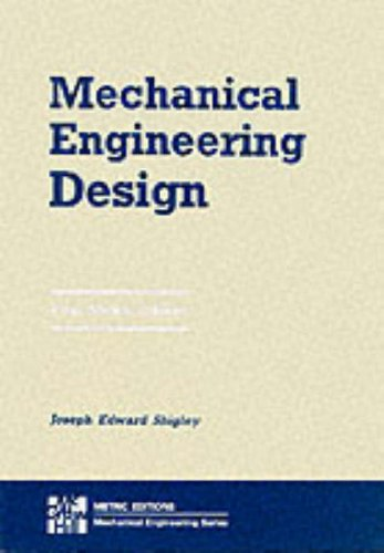 Joseph Shigley Mechanical Engineering Design Abebooks