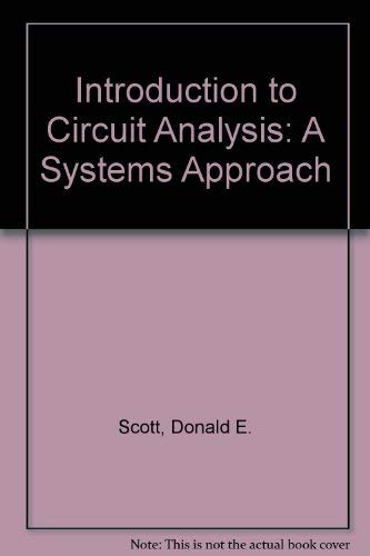9780071003094: Introduction to Circuit Analysis: A Systems Approach