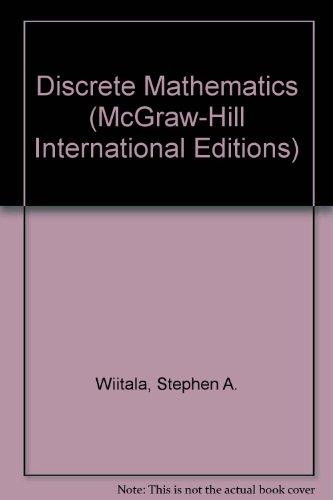9780071003162: Discrete Mathematics (McGraw-Hill International Editions)