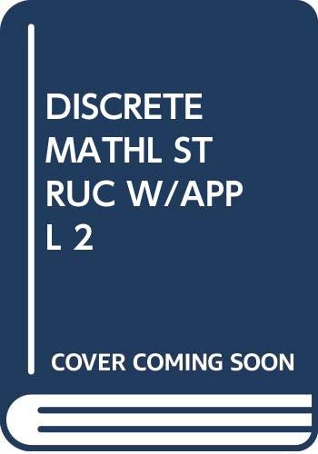 9780071003223: Discrete Mathematical Structures