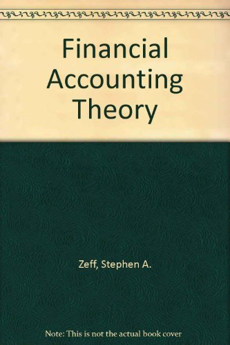 9780071003759: Financial Accounting Theory
