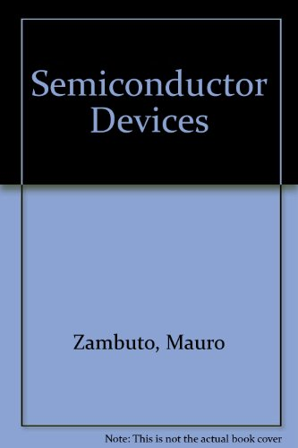 9780071003766: Semiconductor Devices