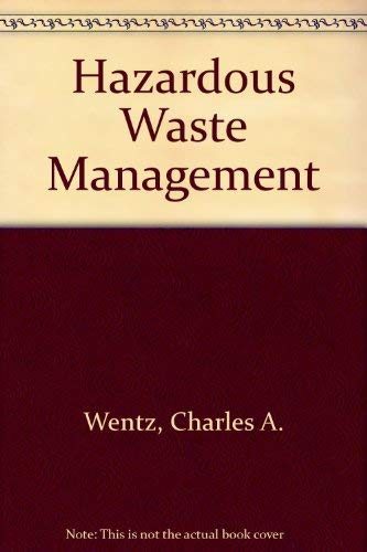9780071003797: Hazardous Waste Management