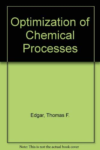 9780071004152: Optimization of Chemical Processes