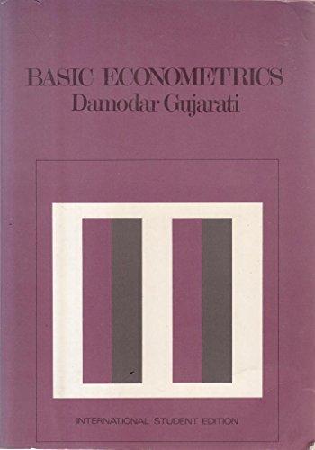 9780071004466: Basic Econometrics