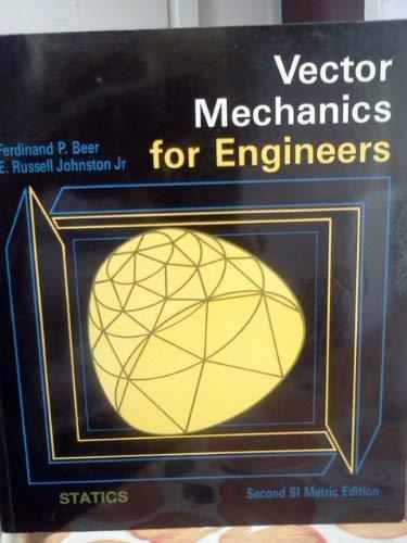 9780071004541: Vector Mechanics for Engineers: Statics
