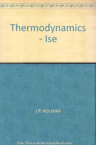 9780071004701: Thermodynamics - Ise