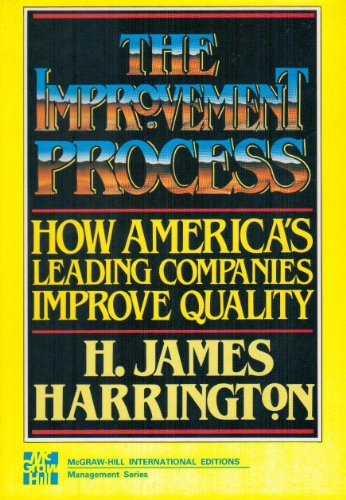9780071004770: The Improvement Process : How America's Leading Companies Improve Quality