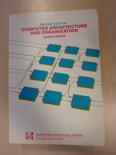 9780071004794: Computer Architecture and Organization