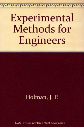 9780071005012: Experimental Methods for Engineers