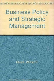 9780071005074: Business Policy and Strategic Management