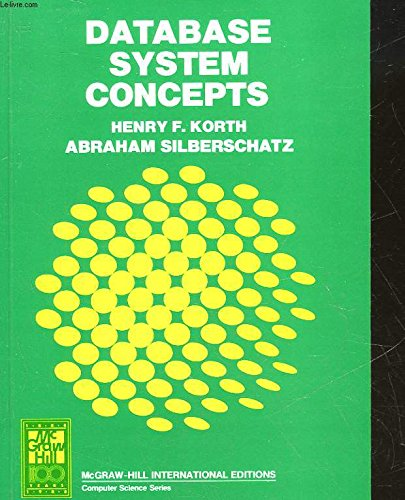 9780071005296: Database System Concepts (McGraw-Hill advanced computer science series)