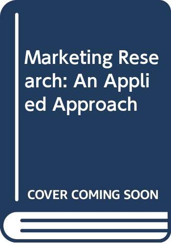 9780071005326: Marketing Research: An Applied Approach