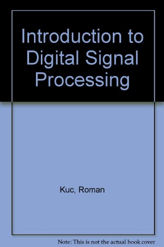 9780071005432: Introduction to Digital Signal Processing