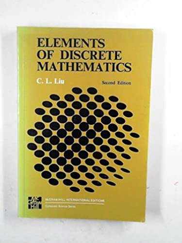 9780071005449: Elements of Discrete Mathematics