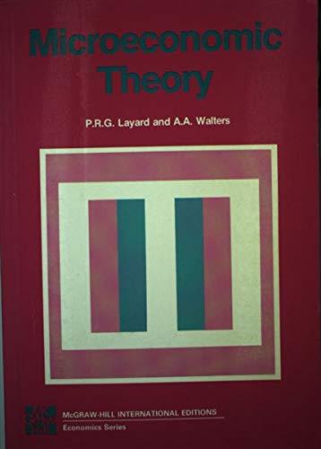 9780071005555: Microeconomic Theory