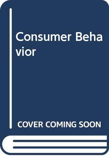 Consumer Behavior: Concepts and Applications: David Loudon, Albert