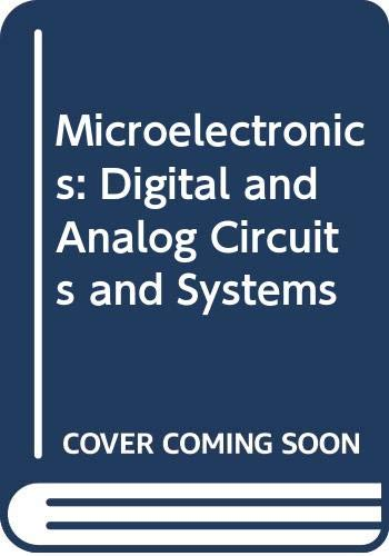 9780071005814: Microelectronics: Digital and Analog Circuits and Systems