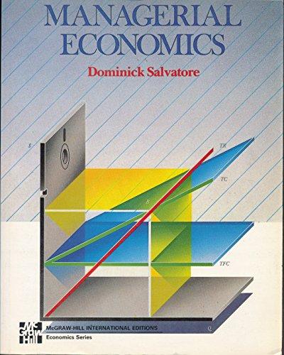 9780071006002: Managerial Economics