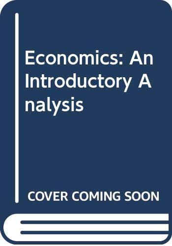 9780071006019: Economics: An Introductory Analysis