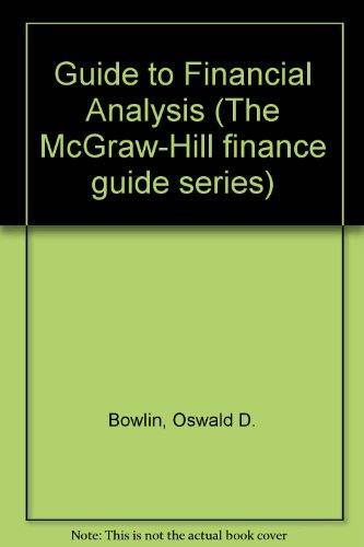 9780071006767: Guide to Financial Analysis