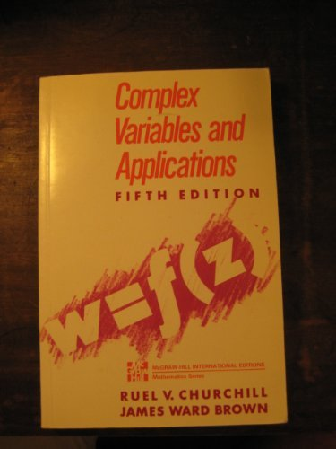 9780071006798: Complex Variables and Applications