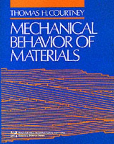 9780071006804: Mechanical Behaviour of Materials