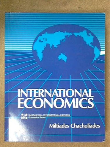 9780071006828: International Economics