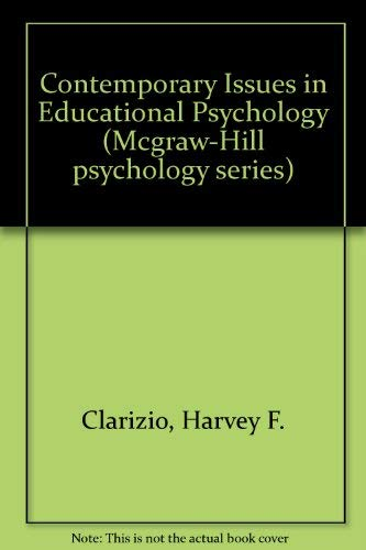 9780071006880: Contemporary Issues in Educational Psychology