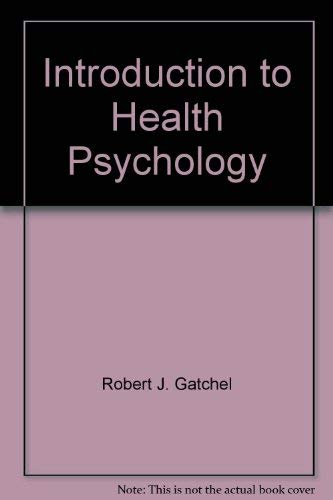 9780071007290: Introduction to Health Psychology