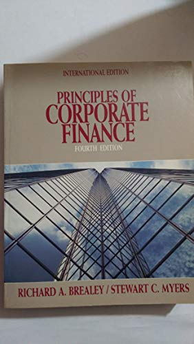 9780071007566: Principles of Corporate Finance