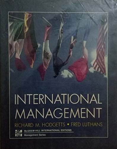 9780071007627: International Management
