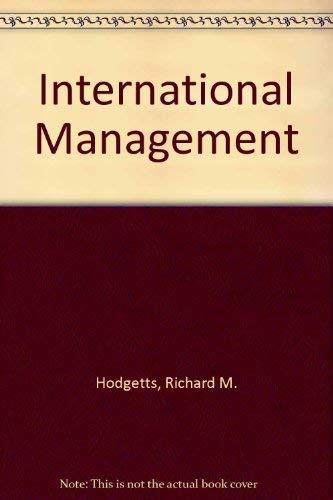 9780071007627: International Management