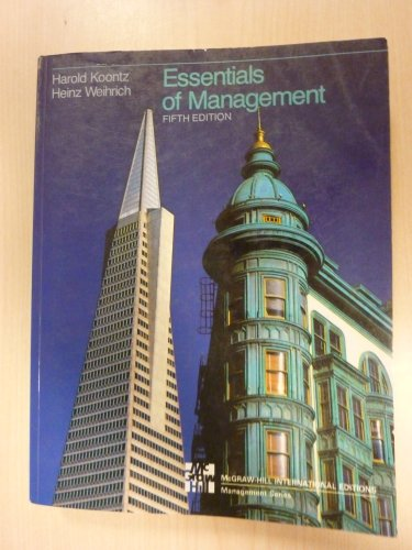 Essentials of Management: Harold Koontz, Cyril
