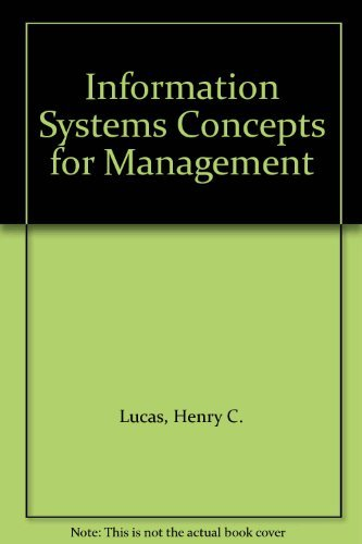 9780071007993: Information Systems Concepts for Management