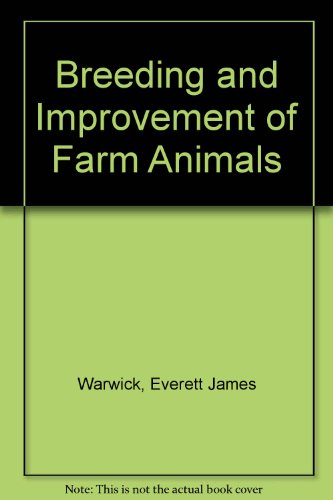 9780071008013: Breeding and Improvement of Farm Animals
