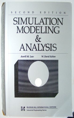 9780071008037: Simulation Modeling and Analysis (McGraw-Hill International Editions: Industrial Engineering Series)