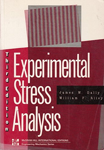 Experimental Stress Analysis Ebook