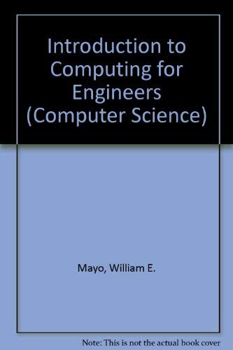 9780071008327: Introduction to Computing for Engineers