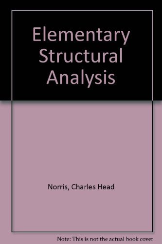 9780071008365: Elementary Structural Analysis