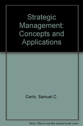 9780071008389: Strategic Management: Concepts and Applications