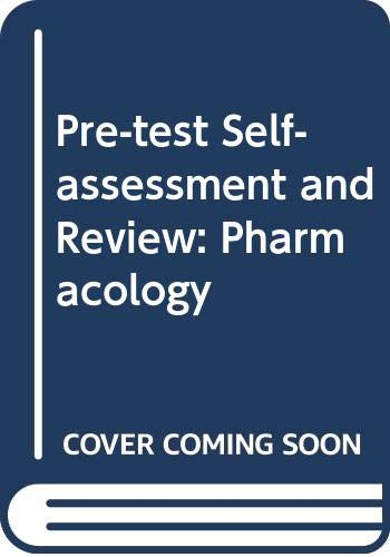 9780071008617: Pre-test Self-assessment and Review: Pharmacology