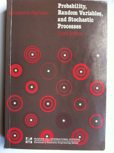 9780071008709: Probability, Random Variables and Stochastic Processes