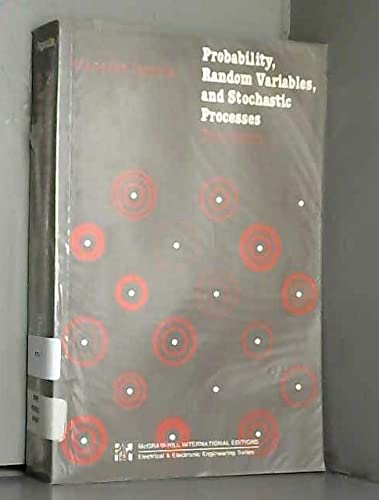 Probability, Random Variables and Stochastic Processes: Athanasios Papoulis