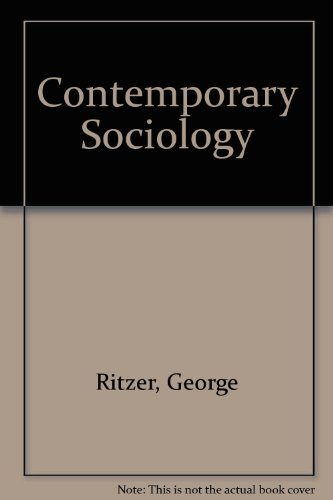 9780071008891: Contemporary Sociology