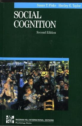 9780071009102: Social Cognition (McGraw-Hill Series in Social Psychology)