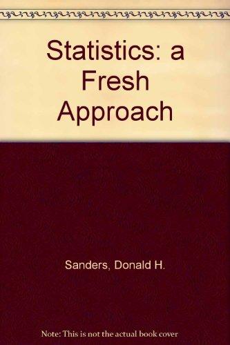 9780071009201: Statistics: a Fresh Approach