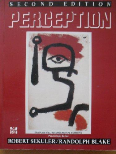 9780071009270: Perception